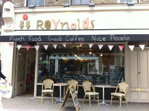 Reynolds cafe, Charlotte Street